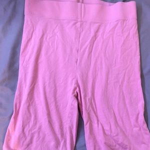 Forever 21 Baby Pink Bike Shorts